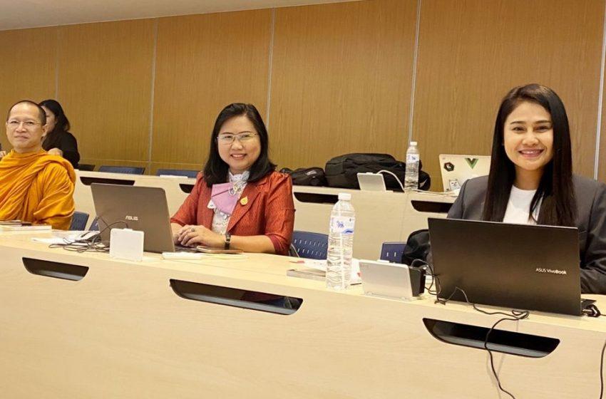 บุคลากรศูนย์อาเซียนศึกษาเข้าอบรมเชิงปฏิบัติการ การใช้ระบบ Thaijo 2